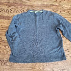Mens Gap Pullover Gray Sweatshirt